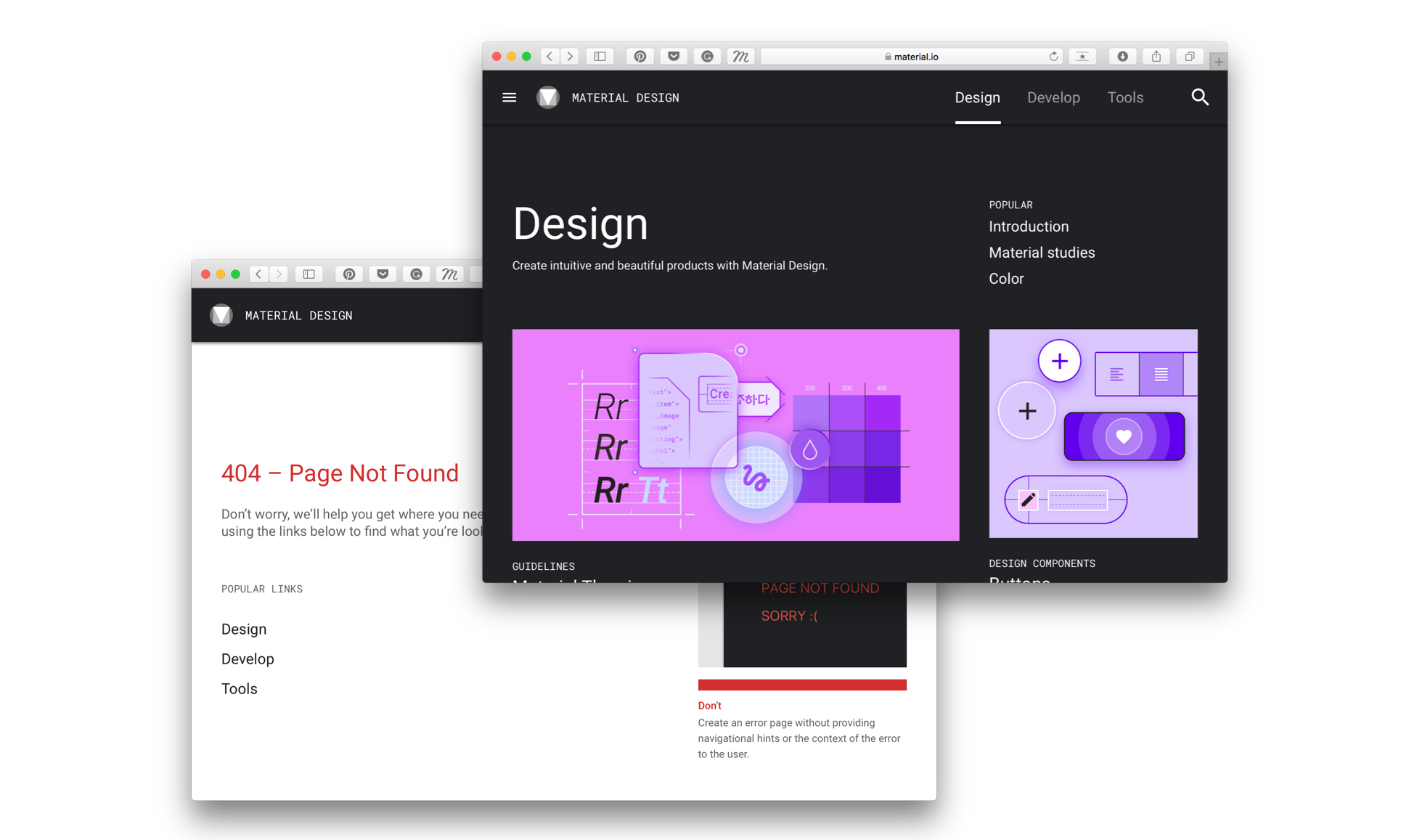 What's New: Material Design